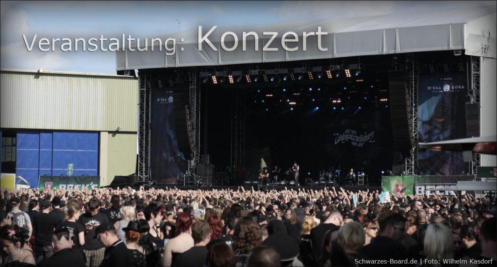 Konzert ASP auf Bühne